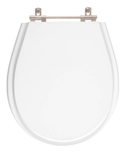 Assento Sanitário Poliéster Avalon Neve (branco) Para Ideal Standard Original
