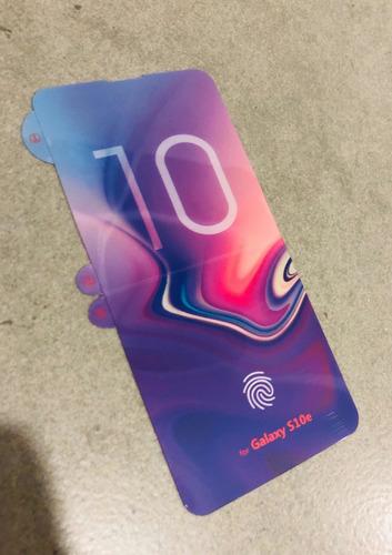 Protector De Pantalla Samsung S10e Nanotecnología