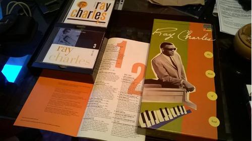 Ray Charles Atlantic - Set Box 3 Cds Jazz-blues