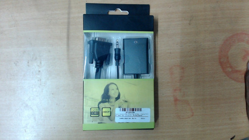 Cable Convertidor Video Vga A Hdmi + Audio Full Hd 1080p