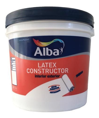 Latex Interior Exterior Construc Blanco Alba X20l / Camino 1