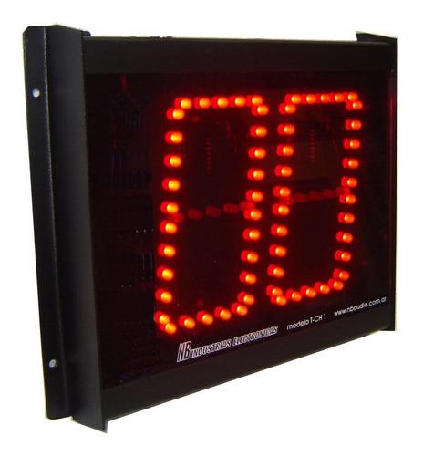 Turnero Electrónico Led Alto Brillo Dos Dígitos Inalambrico
