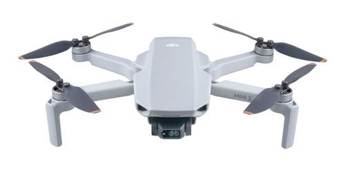 Mini Drone Dji Mavic Mini 2 Câmera 4k Light Gray + Brinde
