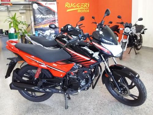 Hero Ignitor 125 I3s 0km 18 Cuotas Fijas $10.000