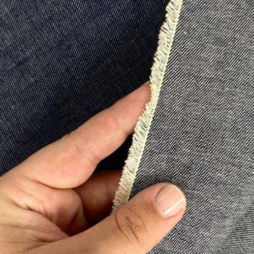 1 Metro Tecido Jeans Grosso 100% Algodão Patchwork