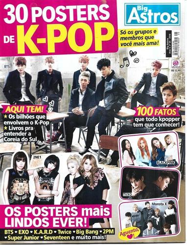 Revista 30 Posters De K-pop 6 Big Astros Ano 4 Nº 25
