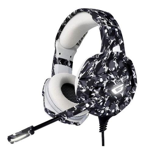 Auriculares Gamer Onikuma K5 Camo Con Luz Led