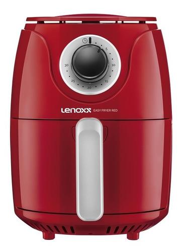 Fritadeira Lenoxx Sem Óleo Easy Fryer Red