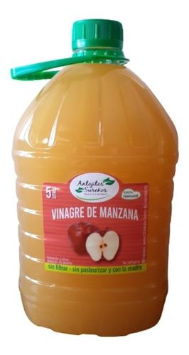 Vinagre De Manzana 100 % Natural Con Madre 5 Litros