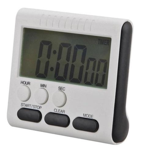 Cronometro Digital Cocina  Alarma Temporizador Reloj