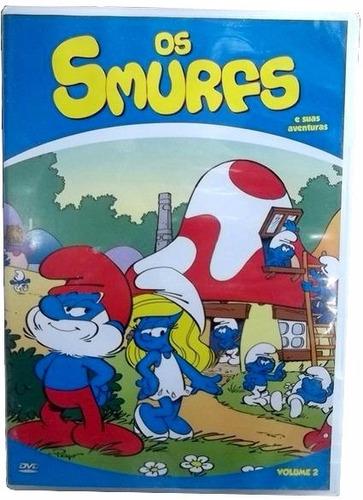 Os Smurfs  E Suas Aventuras  Vol 2 - Animação - Dvd Original