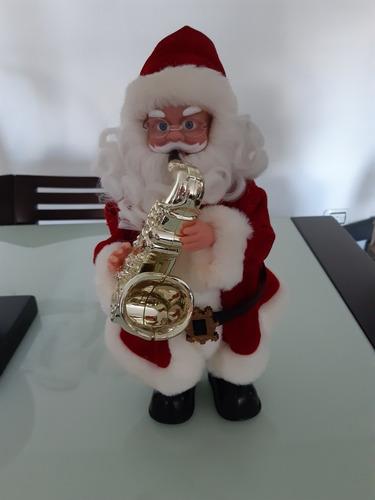 Muñeco De Santa Claus Con Música 36 Cm. De Alto X 15 Cm.