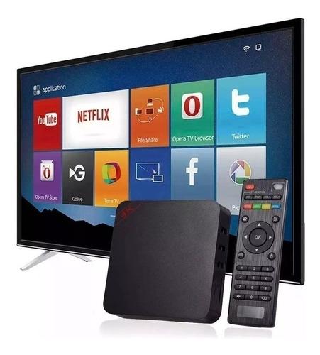 Aparelho Adaptador Smart Tv Box Transforme Sua Tv Em Smarttv