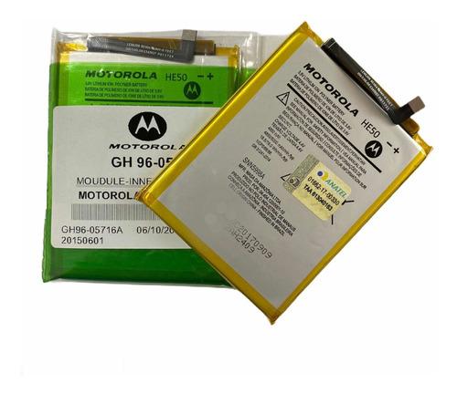 Bateira Motorola Moto E4 Plus Xt1773 He50 Original Lacrada