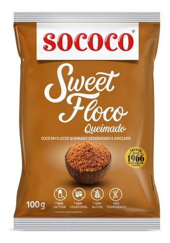 Coco Ralado Sweet Floco Queimado - Sococo 100g