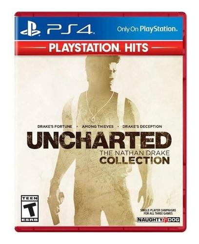 Uncharted: The Nathan Drake Collection Playstation Hits Sony Ps4 Físico