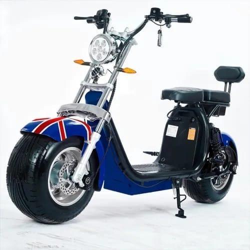 Moto Elétrica Scooter 2000w Autonomia:60 A ( 120km Opcional)