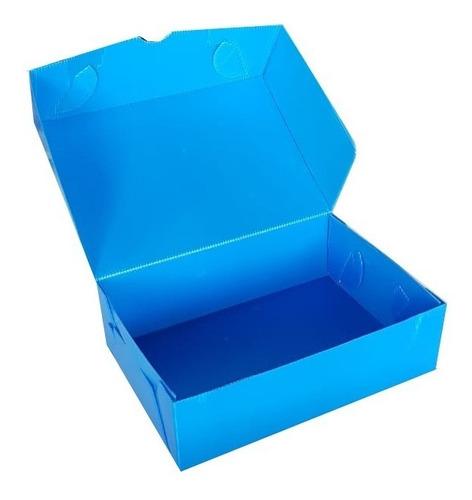 Caja Archivo Plastica Oficio 12 25*36*12 Cm X 10 Unidades