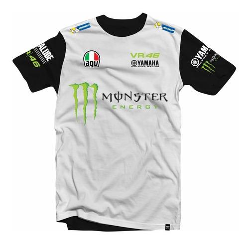 Camiseta/camisa Valentino Rossi - Yamaha (moto Gp)