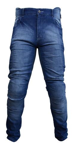 Calça Jeans Motociclista Proteção Kevlar Racing Rabbit