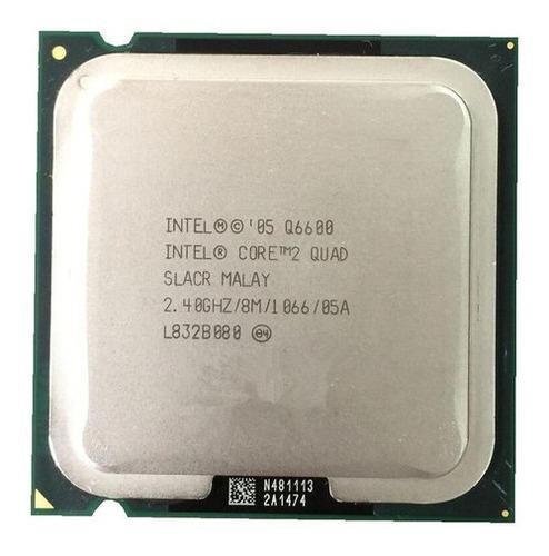 Q6600 Processador Cpu Core 2 Quad 1066 Lga 775 Gammer Game