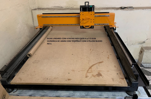 Router Cnc - Rds - 1200x800mm - Profissional