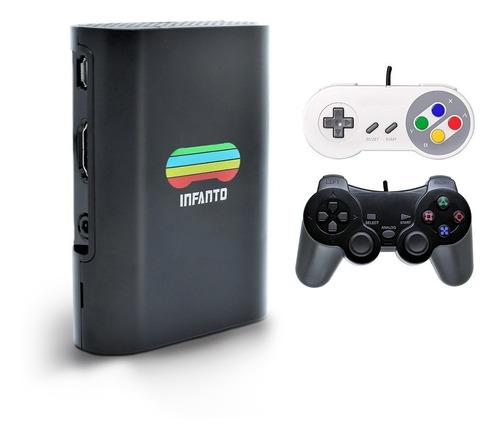 Video Game Retrô Infanto 3 Com 64gb - O Melhor Do Brasil