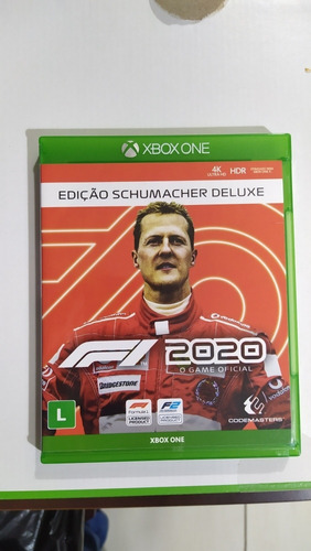 F1 2020 Deluxe Edition Schumacher Xbox One Mídia Física