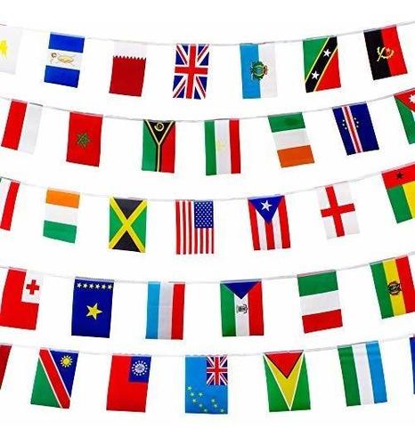 Bandera Internacional De 200 Banderas De Paises Del Mundo P