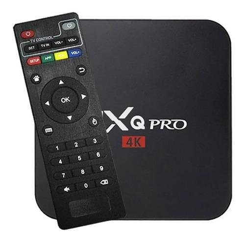 Tv Box  Padrão 4k 128gb Preto Com 2gb De Memória Ram