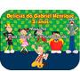 Kit Festa Tubete, Marmitinha, Garrafinha E Sacola 15 Unidade