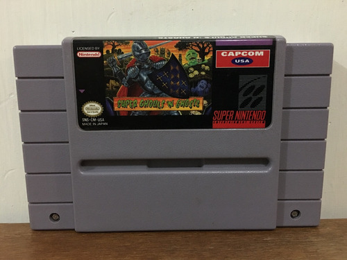 Super Ghouls N Ghosts Para Super Nintendo / Snes Buen Estado