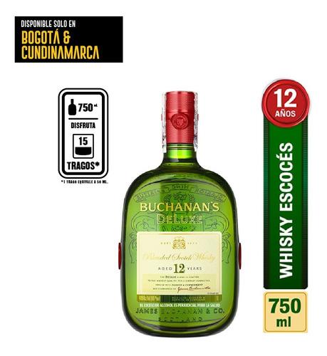 Whisky Buchanans Deluxe 750ml - mL a $164