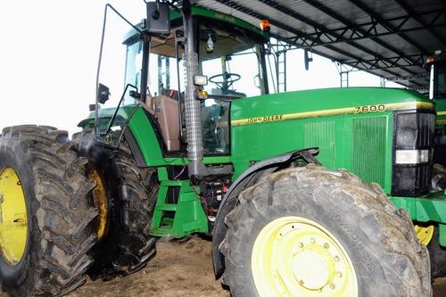 Tractor John Deere 7600 # 14814