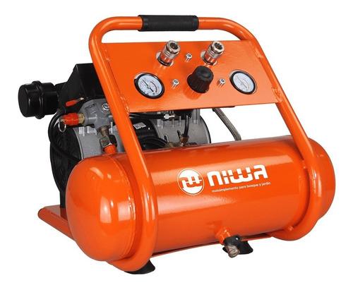Compresor Oil Free Silencioso Asw-6 Niwa