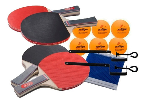 Kit Ping Pong Aoshidan Asd Tenis De Mesa Profissional.