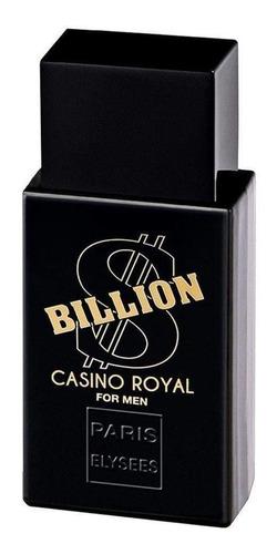Paris Elysees Billion Dollar Casino Royal Edt 100ml Para Homem