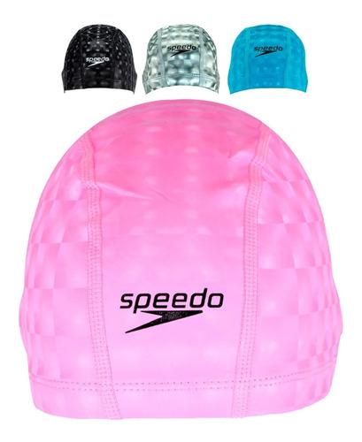 Touca De Natação Speedo Comfort 3d Cap Impermeável*