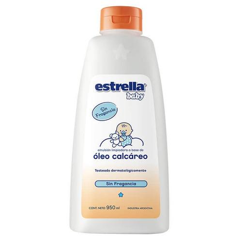 Óleo Calcáreo Estrella Baby Sin Fragancia 950ml