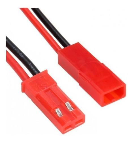 Conector Batería Drone  Macho/hembra Jst Plug Rojo ( 4 Set)