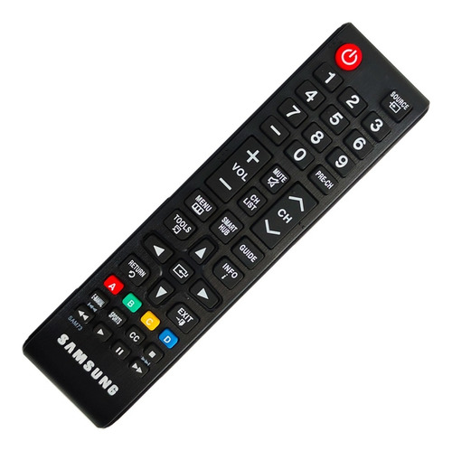 Control Remoto Samsung Smart Tv Pantalla Chico + Funda Pila