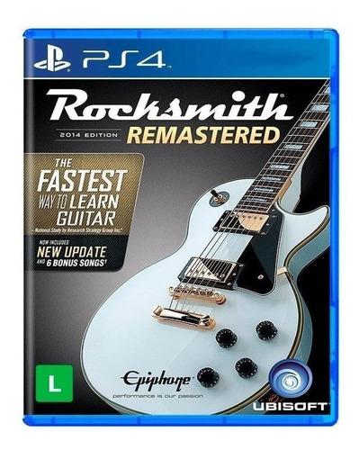 Rocksmith  2014 Edition - Remastered Ubisoft Ps4 Físico