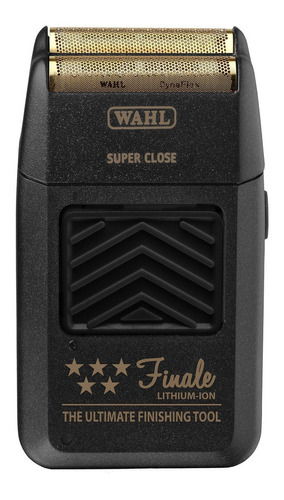 Barbeador Wahl 5 Star Finale  Preto E Dourado 110v/220v