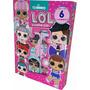 Livro Infantil Lol Surprise Box Com 6 Mini Livros