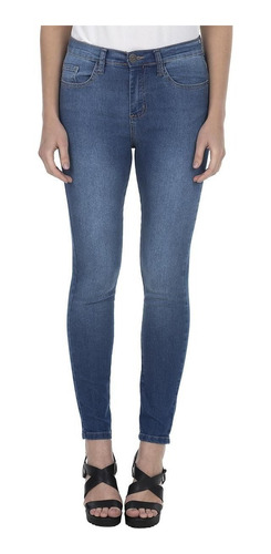 Calça Feminina Básica Skinny Jeans Médio Polo Wear