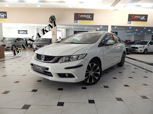 Honda Civic 2.0 Lxr Flexone Automático Completo Impecável