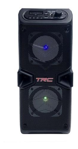 Caixa De Som Bluetooth Amplificada Trc 5506 60w C/ Microfone