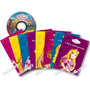 Princesas Um Sonho De Menina 8 Livros Infantis Dvd/cd