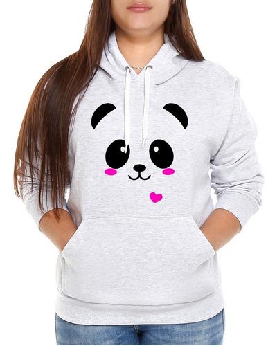 Blusa Moletom Frio Feminino Urso Panda Blusa De Frio Casaco