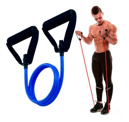 Elástico Tensão Power Tube Treino Braços Peito Musculação